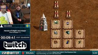#ESAWinter18 Speedruns - Heroes of Might and Magic II: The Price of Loyalty by EdenalSDA