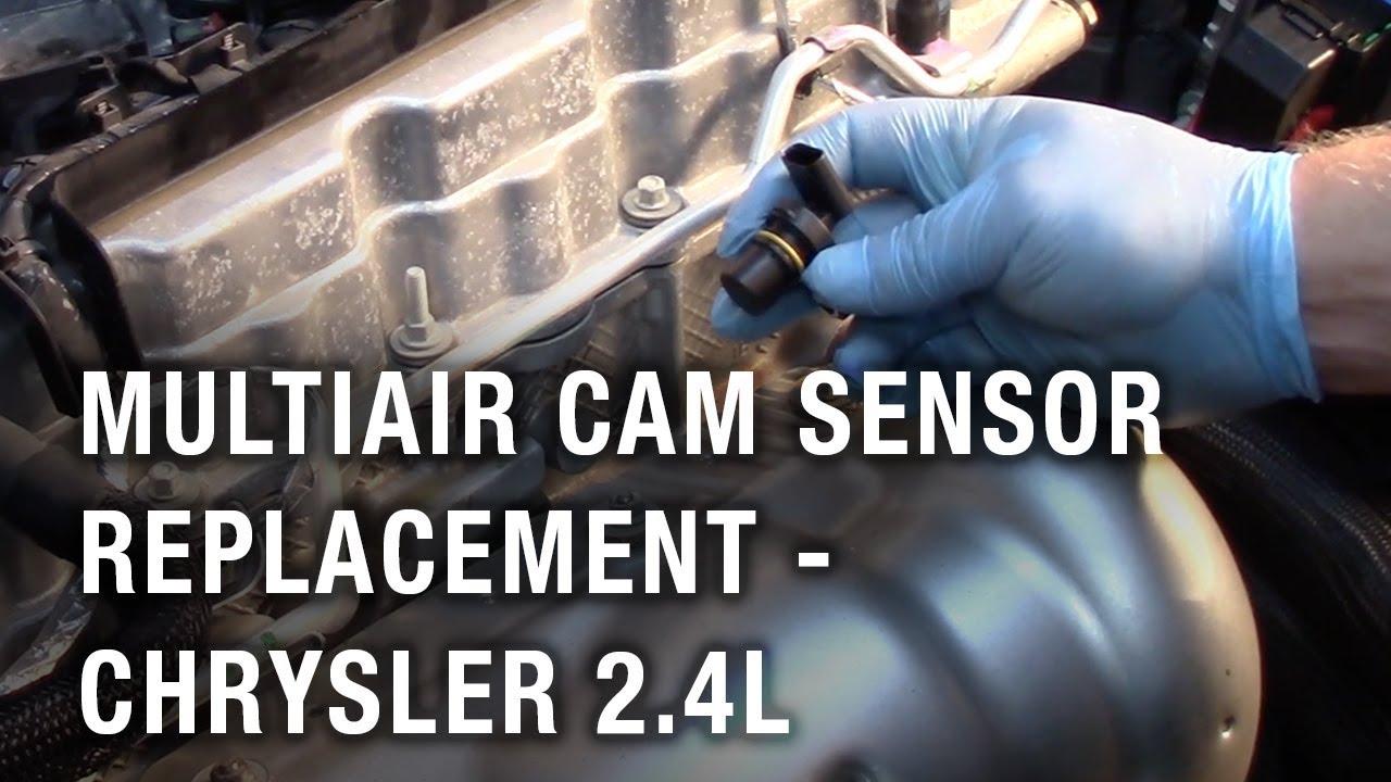 multiair cam sensor replacement chrysler 2 4l [ 1280 x 720 Pixel ]