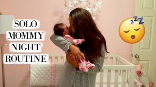 NIGHT TIME ROUTINE OF A FTM WITH A NEWBORN | BEDTIME ROUTINE WITHOUT DAD ♡ Caiya More