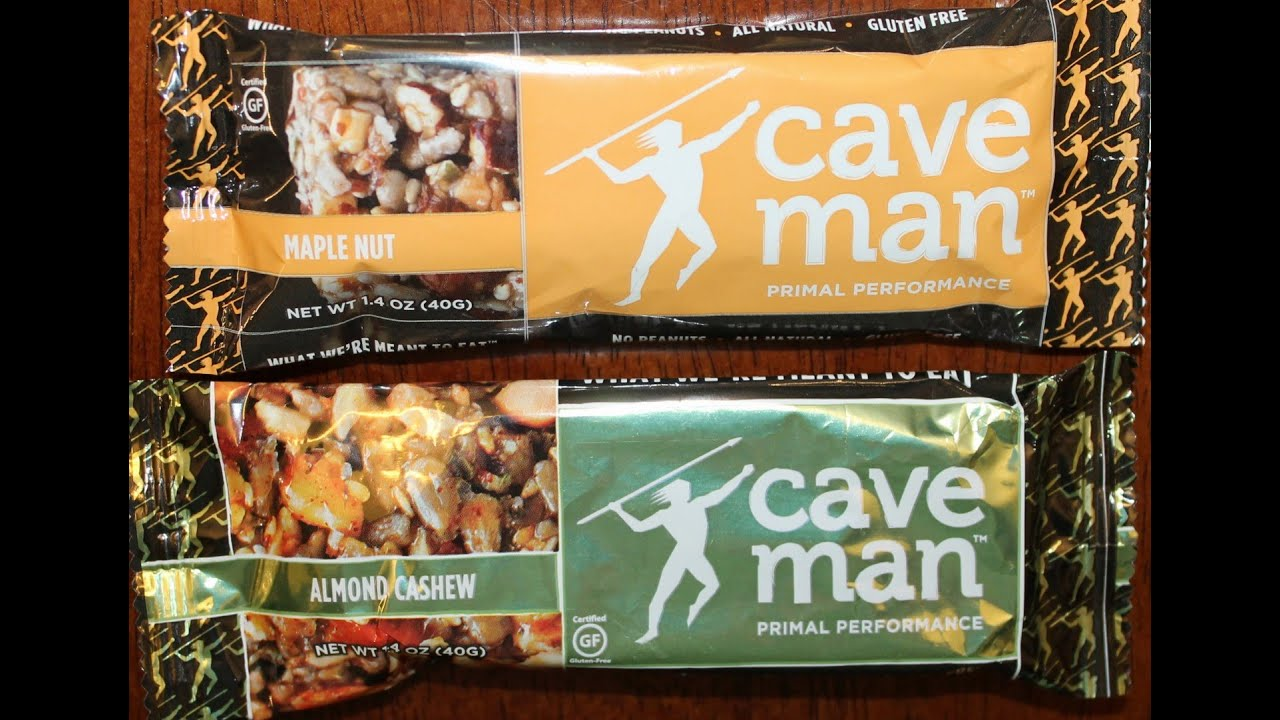 Are Caveman Bars Healthy : Caveman foods maple nut almond cashew nutrition bar review