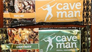 Caveman Foods: Maple Nut & Almond Cashew Nutrition Bar Review