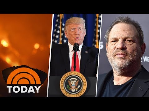 Look Back At The Biggest News Stories Of 2017 On TODAY | TODAY
