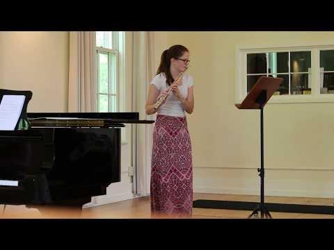 Maia Grace Hendrickson (Flute) & Amber deLaurentis (Piano): Concerto No. 1 in G Major by WA Mozart