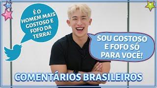 Download CANTOR DE KPOP COMENTA COMENTÁRIOS DE FÃS BRASILEIROS (COM WONHO)