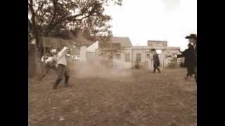 Ok Corral Shootout - Bandera Cattle Company, Bandera, Texas