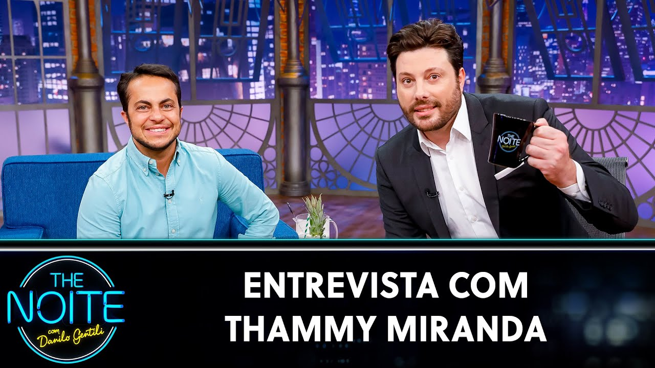 Entrevista com Thammy Miranda | The Noite (10/08/20)