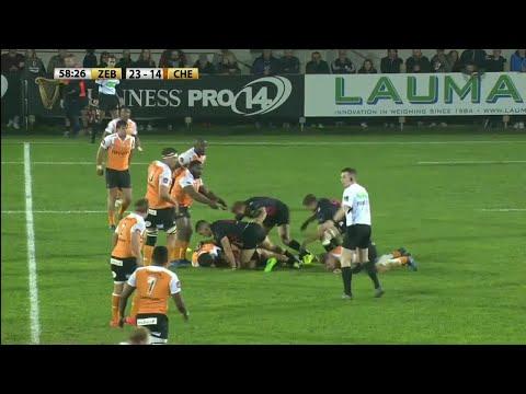 Round 7 Highlights: Zebre Rugby Club v Toyota Cheetahs