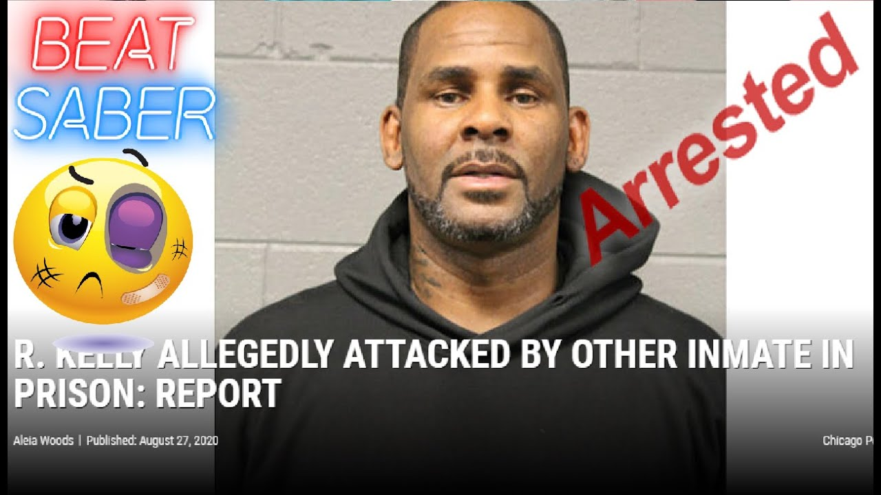 R. KELLY REPORTEDLY JUMPED BY FELLOW MCC INMATE