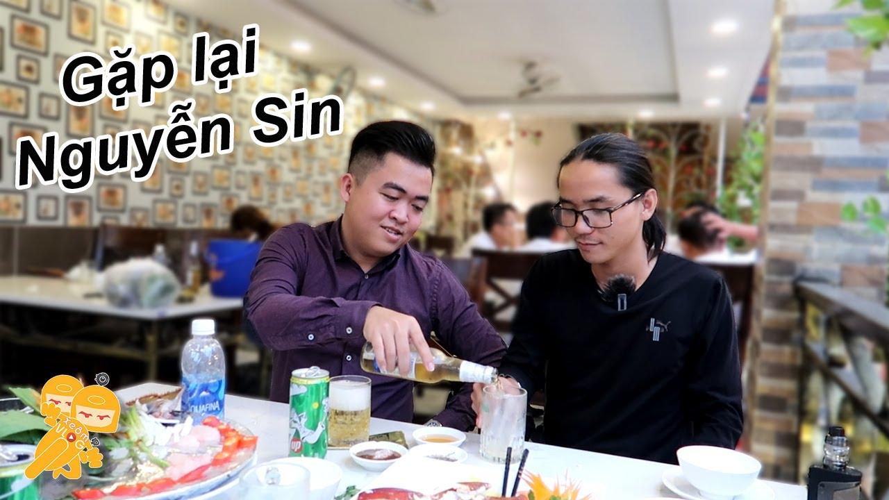 Gặp lại anh Nguyễn Sin tại nhà hàng Vy Long và cái kêt - Xe Ôm Vlog