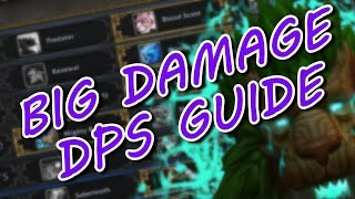 7.1.5 FERAL DRUID PVE GUIDE BIG DAMAGE TALENTS, ROTATION, STAT PRIORITY & ARTIFACT WOW LEGION