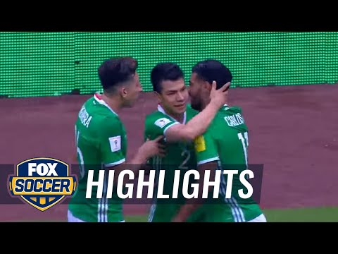 Carlos Vela goal makes it 1-1 for Mexico vs. USA | 2017 CONCACAF World Cup Qualifying Highlights