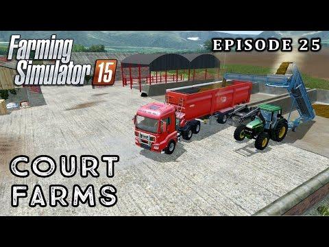 Let's Play Farming Simulator 2015 | Court Farms | Episode 25