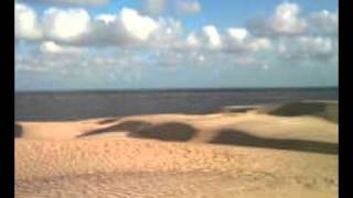 Dunas e praia de Tutóia MA
