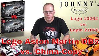 Lego ® vs. Lepin Aston Martin DB5 Lego 10262 / Lepin 21046 im direkten Vergleich