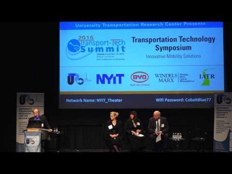 PLENARY SESSION 1- Future Modes & Emerging Transportation Technologies (Part 1)