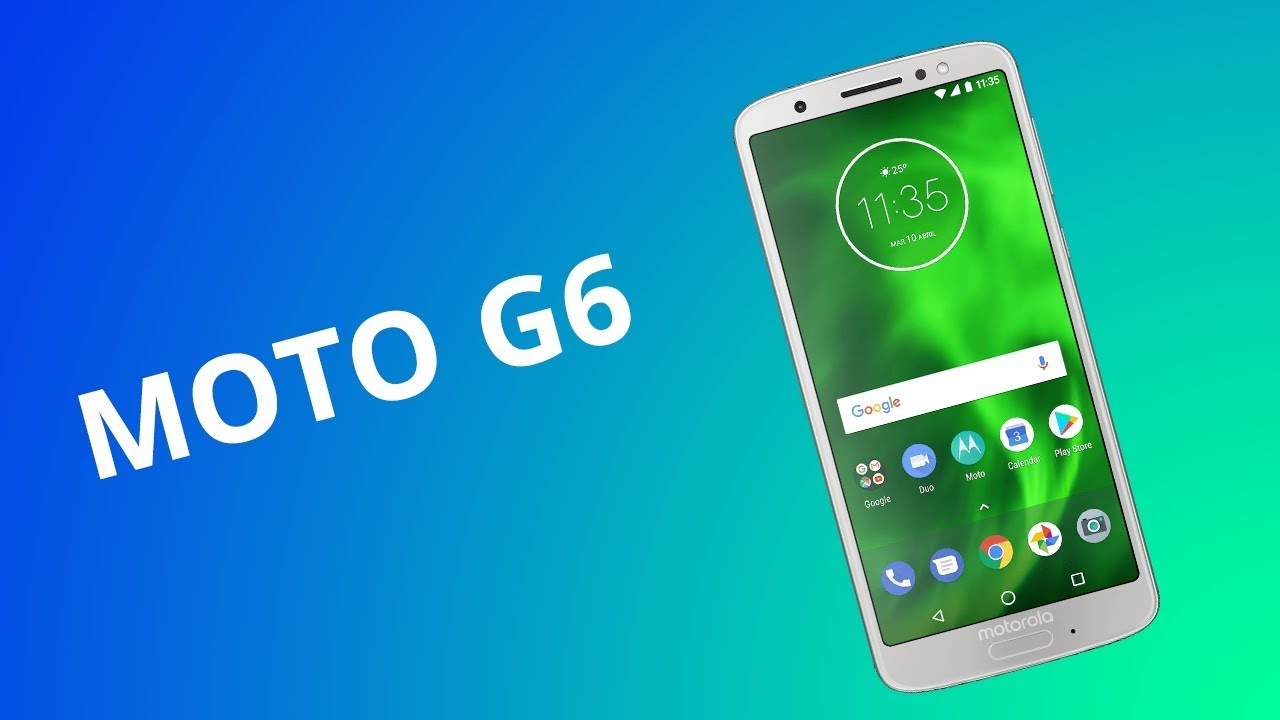 Moto G6 at the best price