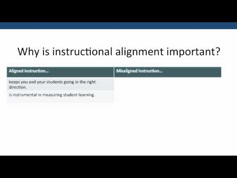 1 - Designing Your Course to Achieve Alignment