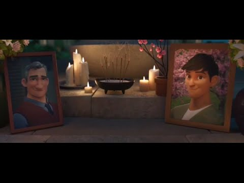 Big Hero 6: Tadashi Hamada Dies - Movie Scene (High Quality From DVDSCR.x264)