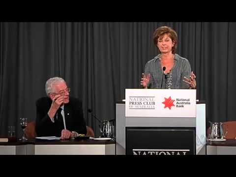 Bettina Arndt at National Press Club - What Men Want in Bed ...