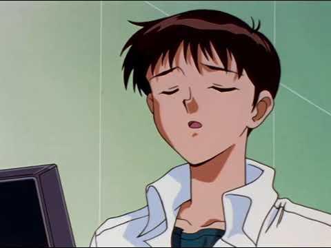 "Asuka Trying To Impress Shinji ""Giant Stroke Entry!"" | Neon Genesis Evangelion | HD Scene"