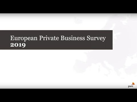 European Private Business Survey 2019 | PwC
