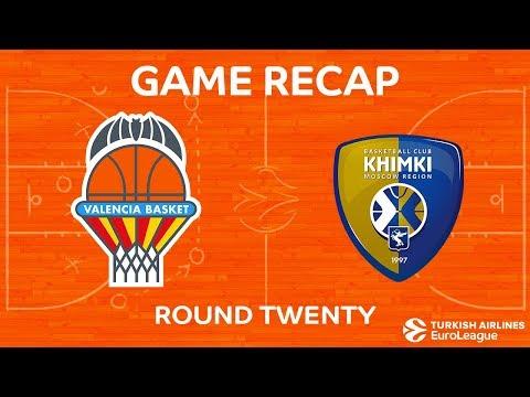 Highlights: Valencia Basket - Khimki Moscow region
