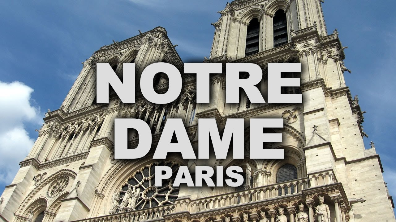 Notre Dame Cathedral Of Paris Finest Example French Gothic Architecture