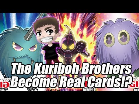 THE KURIBOH BROTHERS BECOME REAL YU-Gi-OH CARDS! A.I. Support! Animation Chronicle is Interesting!