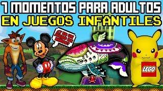 Top 7 Momentos Oscuros en Videojuegos Para NIÑOS