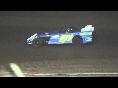 Ark La Tex Speedway Pro Mod heat race 1 9/26/15