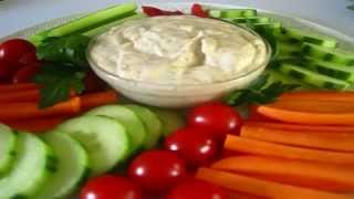 Christmas Day Creamy Vegetable Dip - How To Make Vegetable Dip Recipe