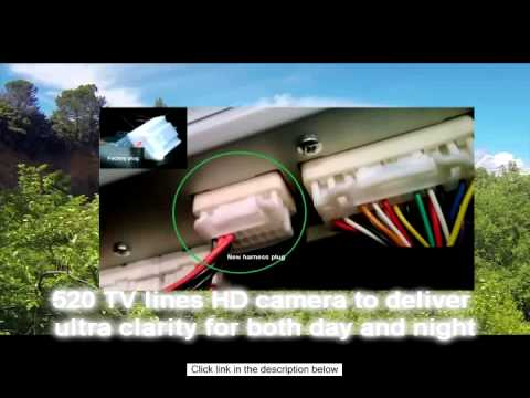 Tacoma Radio Wiring Diagram Toyota Rear Backup Camera Kit For Camry Corolla Prius