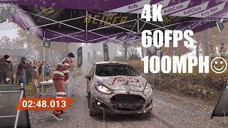 DiRT 4 4K 60FPS+ Gameplay - EVGA GeForce GTX 1080 Ti FTW3 iCX + Ultra Quality