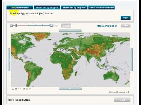 Digital Elevation Model Download