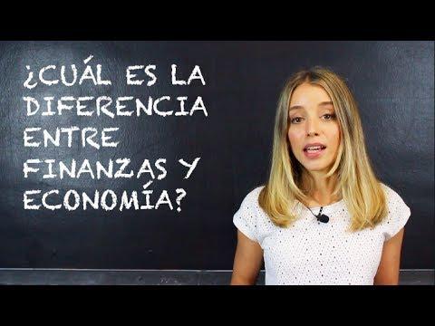 ¿Cuál es la Diferencia entre Finanzas y Economía?