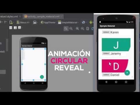 04.- Curso Material Design con Android Studio.  Crear Aplicación con Material Design.