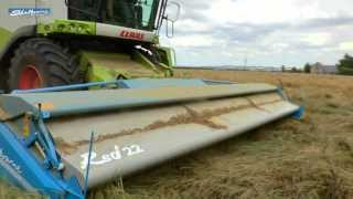 Shelbourne Rsd Stripper Headers Harvesting Rice And Ryegrass