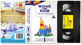 Winnie the Pooh and a Day for Eeyore (6th February 1995) UK VHS