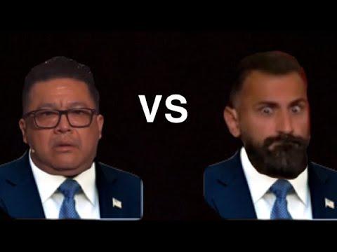 """Download Hetsig debatt mellan Leo """"Kinesen"""" Carmona vs Hanif Bali (highlights)"""