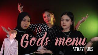 Download song [SALI COVER SING] Stray Kids - 神메뉴 (God's Menu) BY. SALIRUM FEAT. NADAFID & YUNITA FAUZIAH