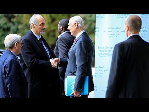 Slow progress at Geneva peace talks on Syria