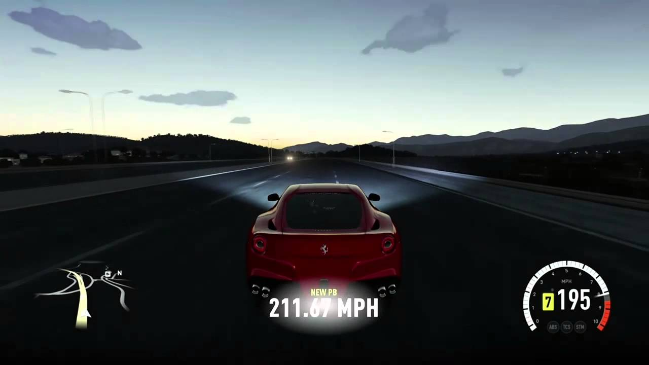 Ferrari f12 berlinetta top speed