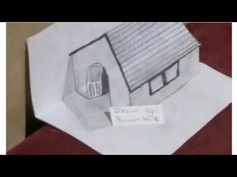 How to draw 3d elusion drawing easy step by step by art warrior