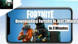 How to download Fortnite in android 3 Minute!!
