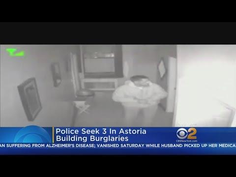 3 Sought In Astoria Building Burglary