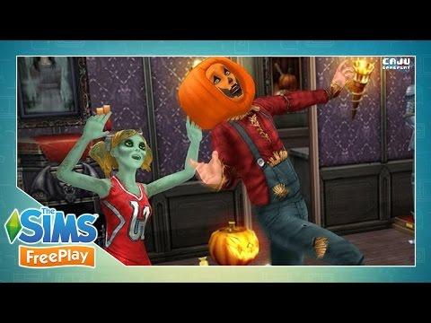 The Sims FreePlay: NOITE DOS MONSTROS DE DOCE - Pt. 2 #77