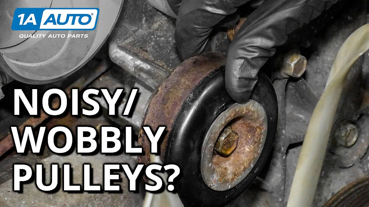 Pulley Problems: How to Diagnose Squealing and Chattering Noise From Under the Hood!