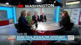 Rand Paul Steals The Spotlight - CNN's State of the Union 3/10/2013