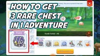 How To Get 3 Rare Chest in 1 Pet Adventure - Ragnarok Mobile Eternal Love