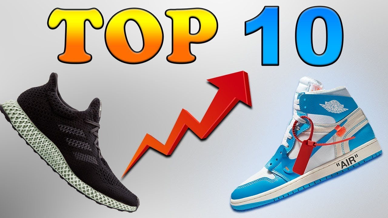 hot sale online 6f1f6 c6078 TOP 10 Highest Selling Sneakers Of 2018 !